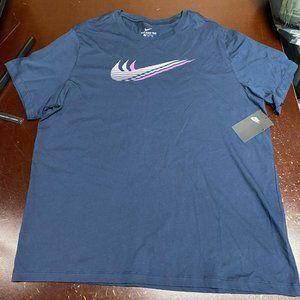Nike Mens Round Neck Pullover Training T Shirt XXL
